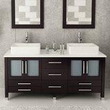 Pooja 72 Double Bathroom Vanity Set by Orren Ellis