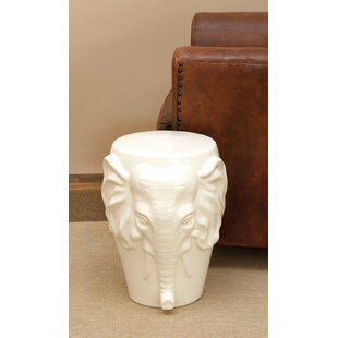 Prime Marko Ceramic Elephant Accent Stool Beatyapartments Chair Design Images Beatyapartmentscom