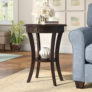 Shop For Leander End Table With Storage By Charlton Home