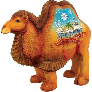 Egg shape mantel camel