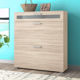 Maryanna 16 Pair Shoe Storage Cabinet By Zipcode Design