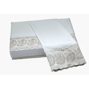 Billingsley Lace 220 Floral Flower Cotton Sheet Set