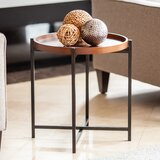 Howle Tray Table by 17 Stories