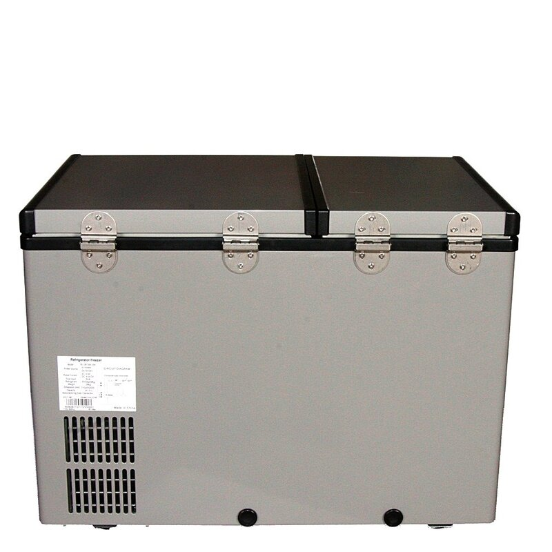 Dual Zone Portable 2 07 Cu Ft Chest Freezer