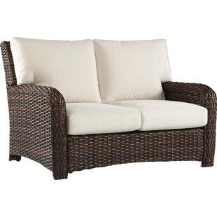 Bay Isle Home Chorio Loveseat with Cushions