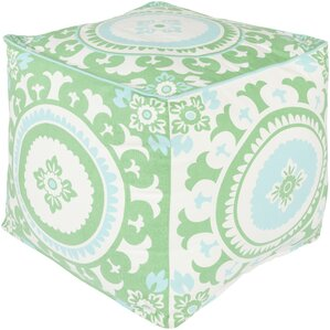 France Square Pouf Ottoman by Bungalow Rose