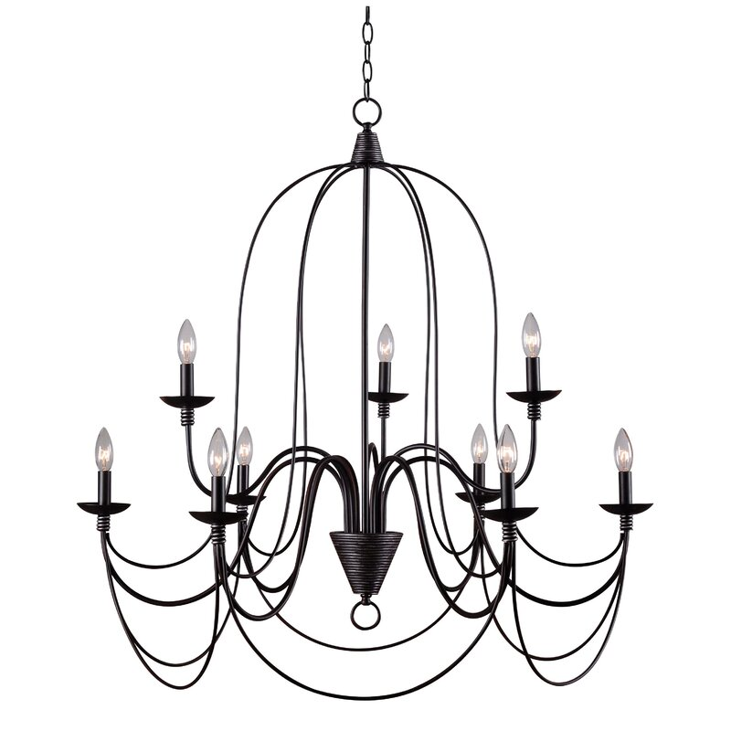 Three Posts Watford 9 Light Candle Style Chandelier Reviews