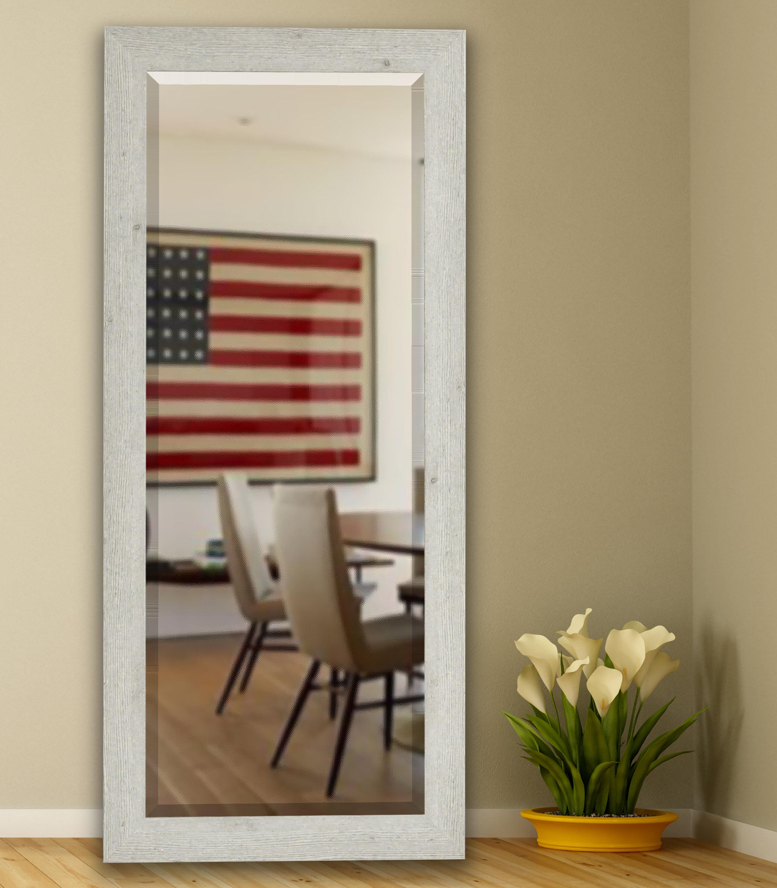 August Grove Extra Tall Floor Mirror | Wayfair