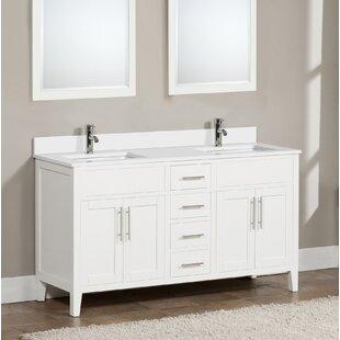 Shop For Bedelia 61 Double Bathroom Vanity Set ByLatitude Run