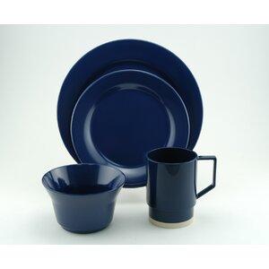 Melamine 24 Piece Dinnerware Set, Service for 6