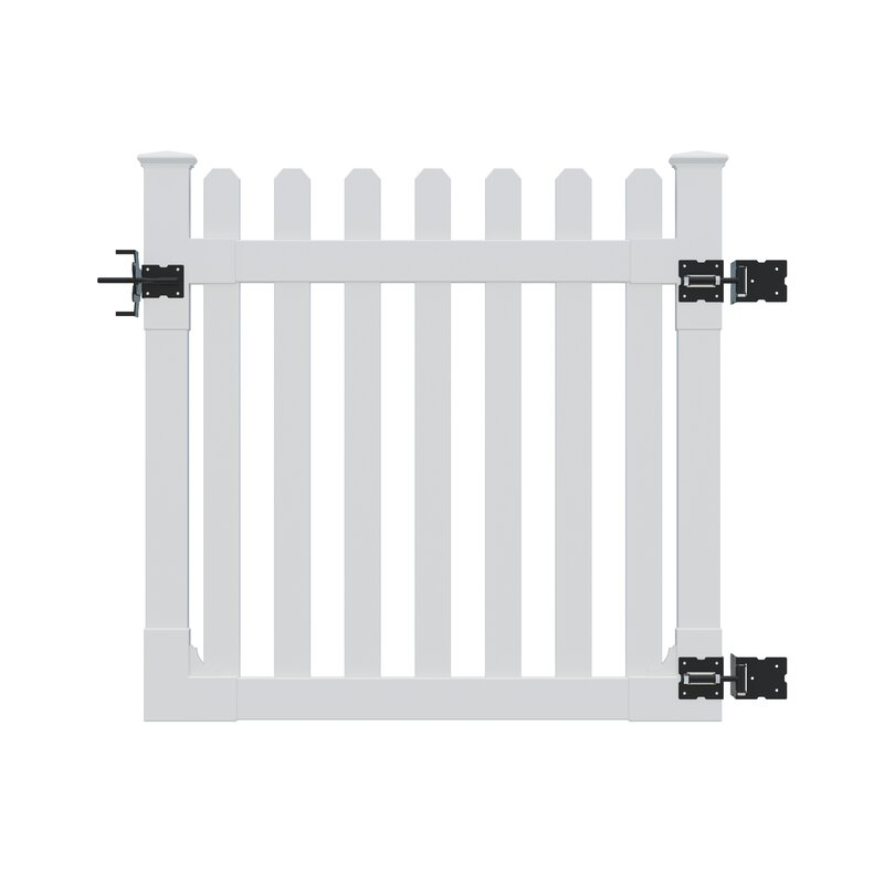 Wam Bam Fence CO. 4 ft. H x 4 ft. W Traditional Gate
