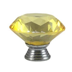 Diamond Shape Crystal Knob