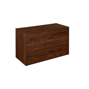 2 Drawer Nightstand by ClosetMaid