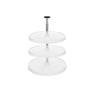 Polymer Full Circle 3 Shelf Lazy Susan