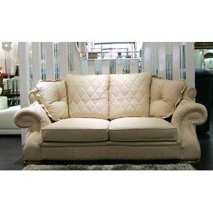 Alexandra Leather 3 Seater Sofa By Rosalind Wheeler