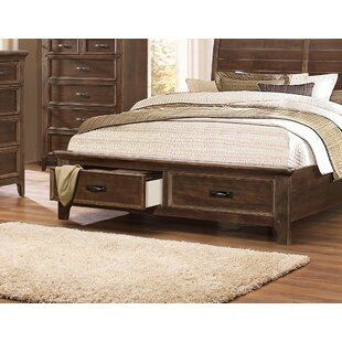 Loon Peak Reichert Storage Platform Bed
