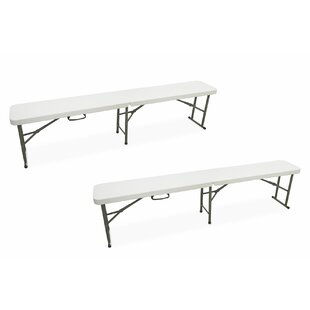 Plastic Bench (Set Of 2) By Galileo