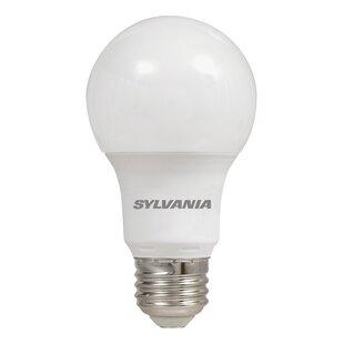 4 bulb light fixture led wraparound light watt 40 equivalent a19 led nondimmable light bulb e26medium standard base set of 4 bulb cover wayfair