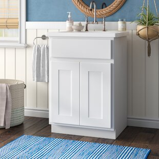 Haxby Single 24 Bathroom Vanity Base Only By Highland Dunes