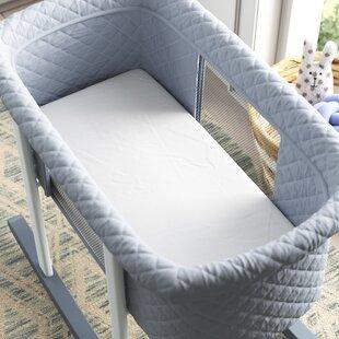 Size white 18x36x2 Babydoll Bedding Cradle Mattress