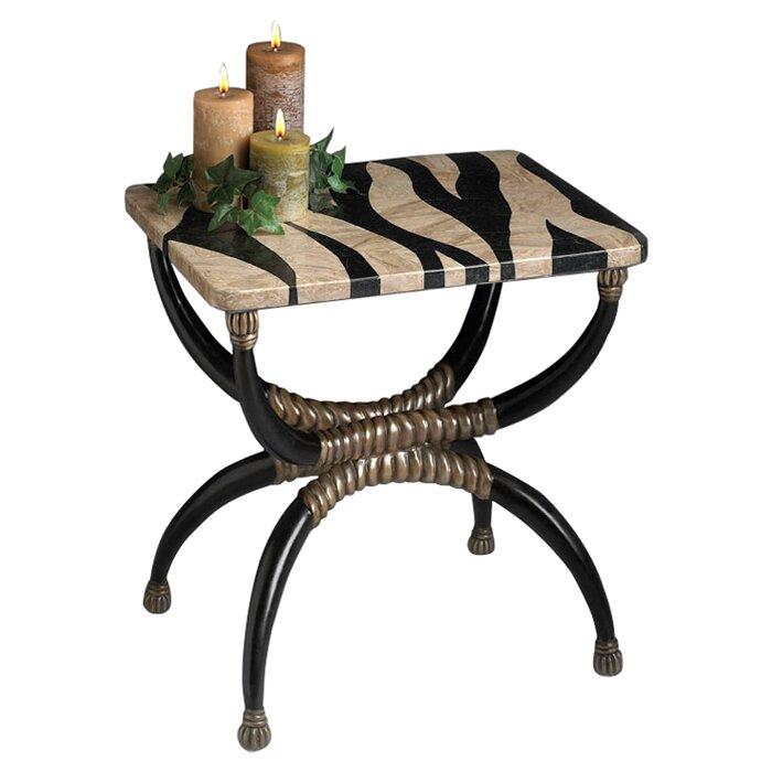 Delicieux Kaya Zebra End Table
