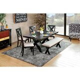 Dugger Solid Wood Dining Set by Gracie Oaks