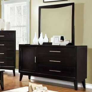Compare & Buy Divya 3 Drawer Combo Dresser with Mirror by Wrought Studio