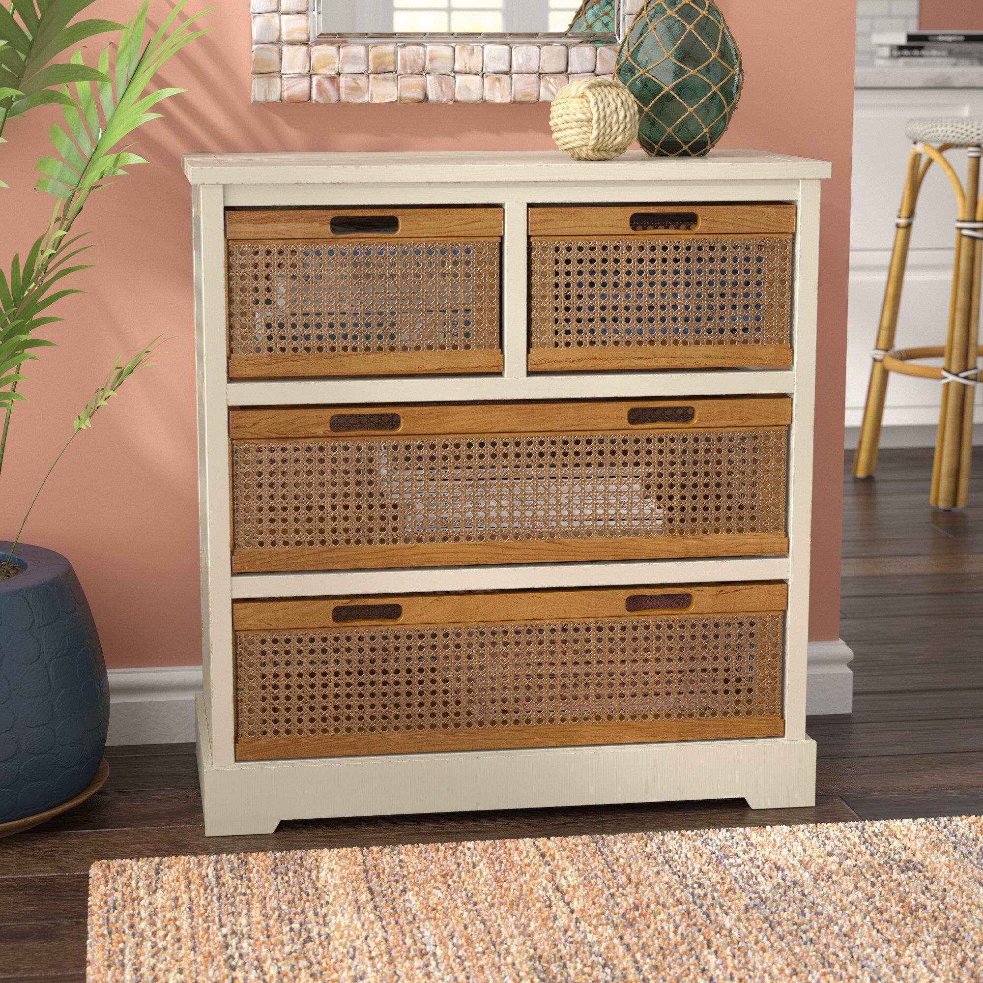 Beachcrest Home St. Leo 4 Drawer Storage Cabinet U0026 Reviews | Wayfair