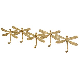 Schary Dragonfly Wall Mounted Coat Rack By Fairmont Park