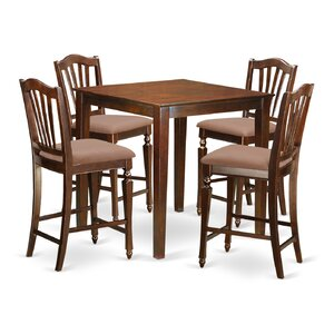 Superb Vernon 5 Piece Counter Height Pub Table Set By East West Furniture