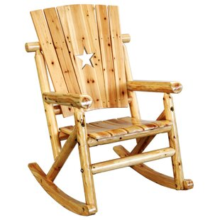 Alaniz Star Single Rocking Chair
