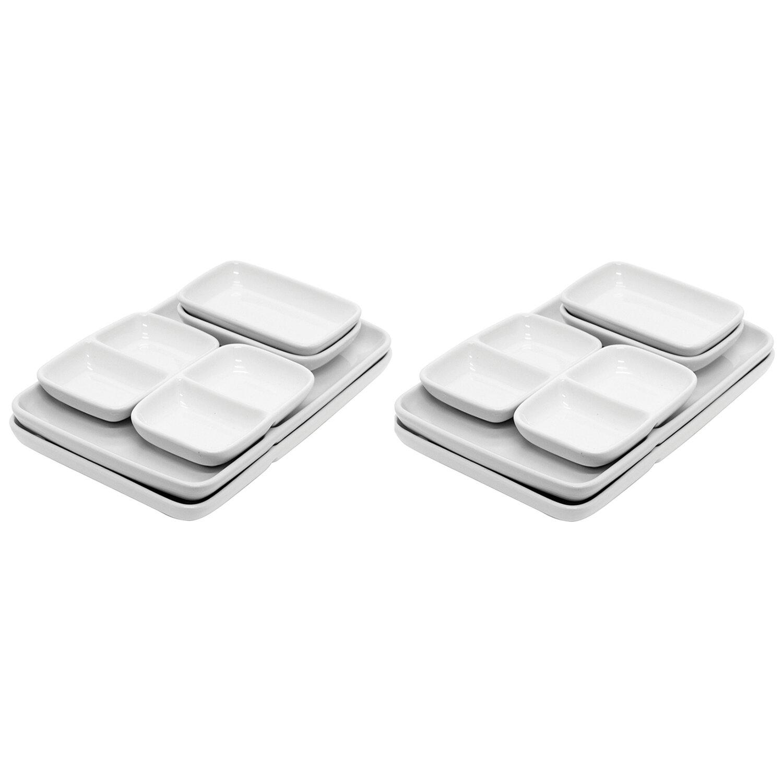 Ebern Designs Baltazar 12 Piece Divided Serving Dish Set Wayfair