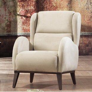 Brayden Studio Danos Modern Wingback Chair