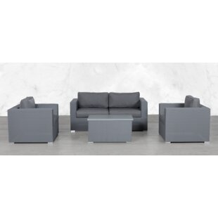 Frisch Modular 5 Piece Sofa Seating Group with Cushions