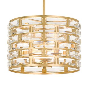 Everly Quinn Geib 5-Light Drum Chandelier