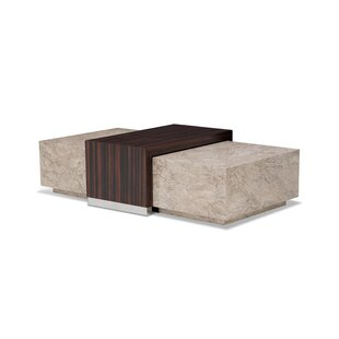 Sergio Coffee Table by Michael Amini