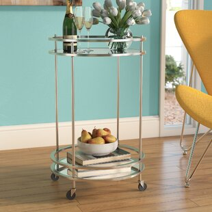 Huya Bar Cart by Wrought Studio