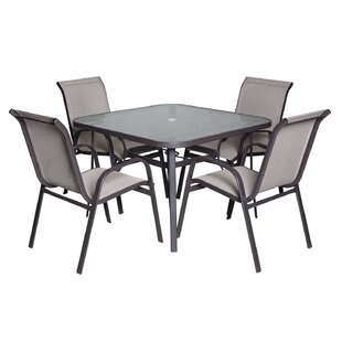 Kaleigh 5 Piece Dining Set by Red Barrel ..