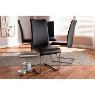 Inexpensive Daventry Upholstered Dining Chair (Set of 4) by Orren Ellis