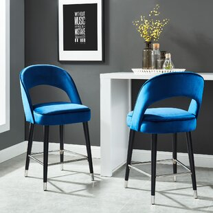 Orrie 26 Bar Stool (Set of 2) Brayden Studio