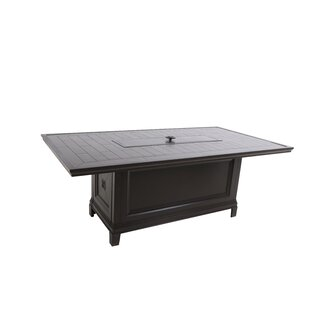 Bungalow Aluminum Propane Fire Pit Table
