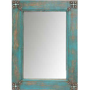 Reviews Concho Cross Rustic Accent Mirror By My Amigos Imports