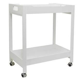 Stecker Simple Wood Bar Cart
