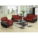 Finkbeiner 3 Piece Living Room Set by Orren Ellis