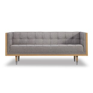 Arista Chesterfield Loveseat by Wade Logan Fresh