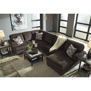 Ellicottville U-Shaped Sectional  sc 1 st  Wayfair : u shaped reclining sectional - Sectionals, Sofas & Couches