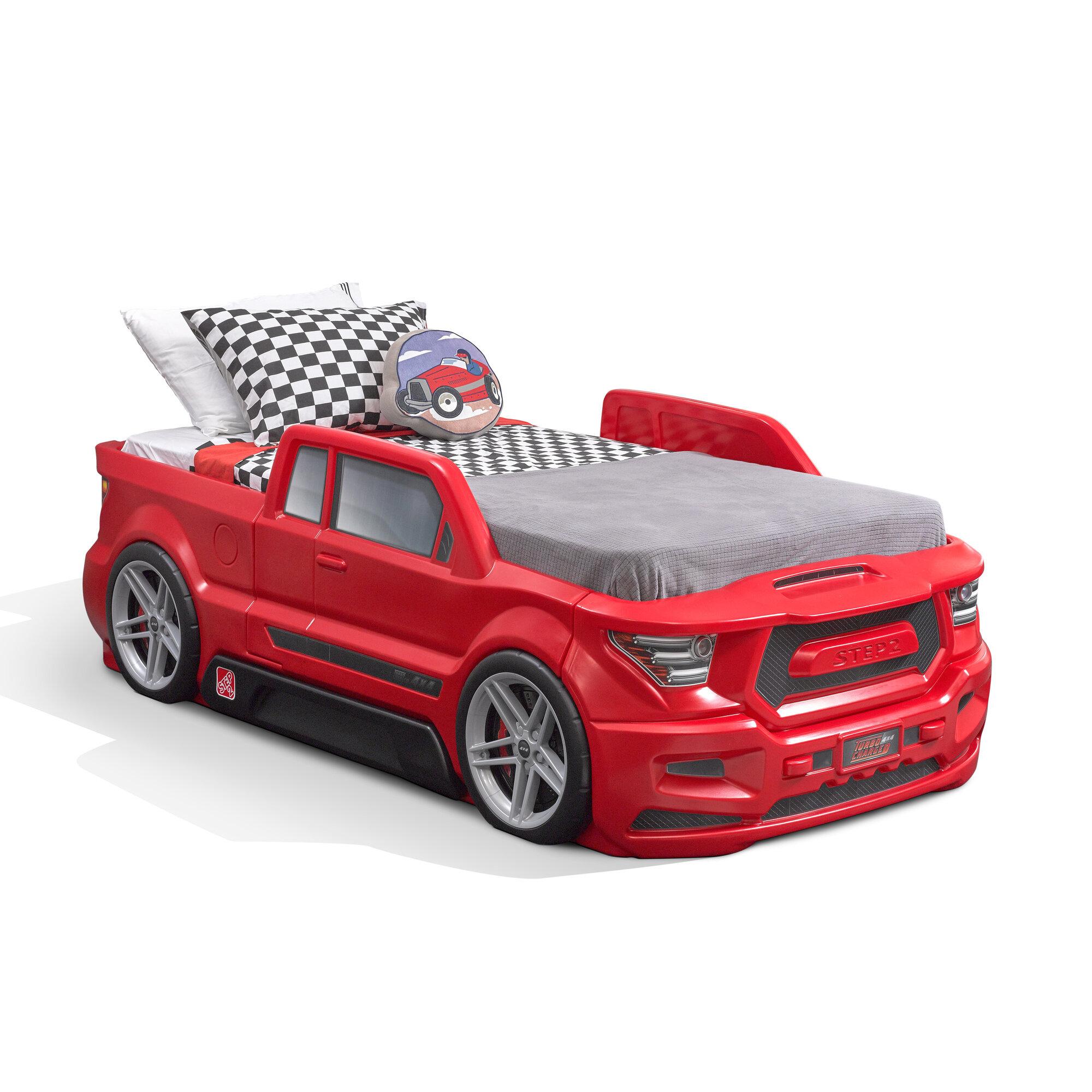 Step2 Turbocharged Twin Car Bed Reviews Wayfair