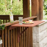 Cholet Solid Wood Balcony Table