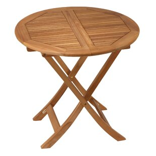 Geoffrey Folding Wooden Dining Table