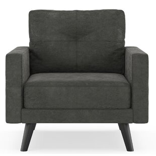 Courtney Micro Suede Armchair by Foundry Select